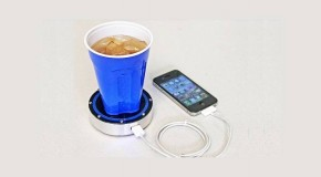 Charge Phone With a Beer