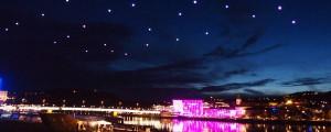 Quadrocopters Light Show