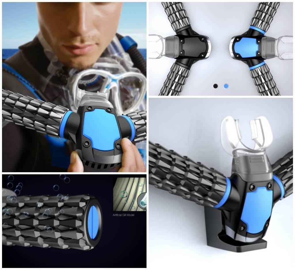 Triton Oxygen Respirator Pictures