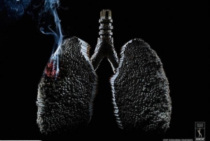 Smoking reduces weight. One lung after another.| © www.bestdesignoptions.com