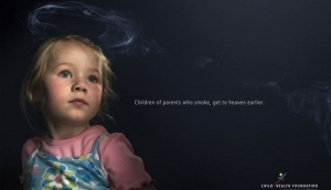 Children of parents who smoke, get to heaven earlier | © www.bestdesignoptions.com