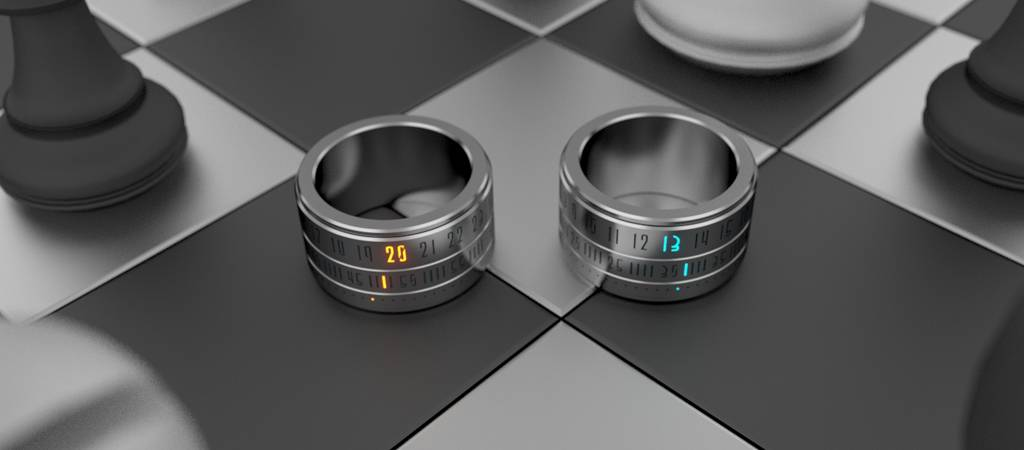 Ring Alarm Clock Vibrates Your Finger To Wake You Up