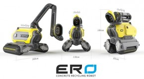 Ero Concrete Recycling Robot