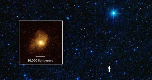 Galaxy turning gas into stars