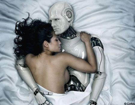 Robot Programmed to Fall in Love