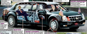 The American President's Limousine