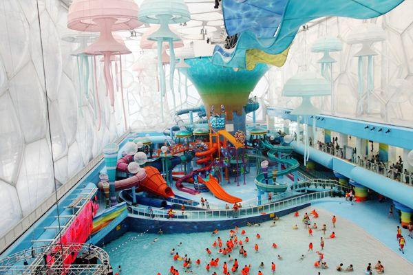 Beijing Water Cube Water Park