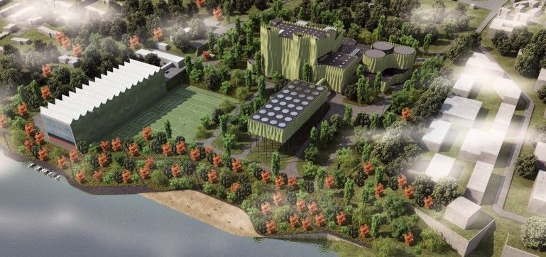 Architect Proposes Disguising Gas Power Station as a