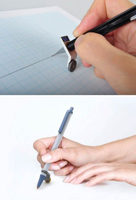 Easy drafting pen concept