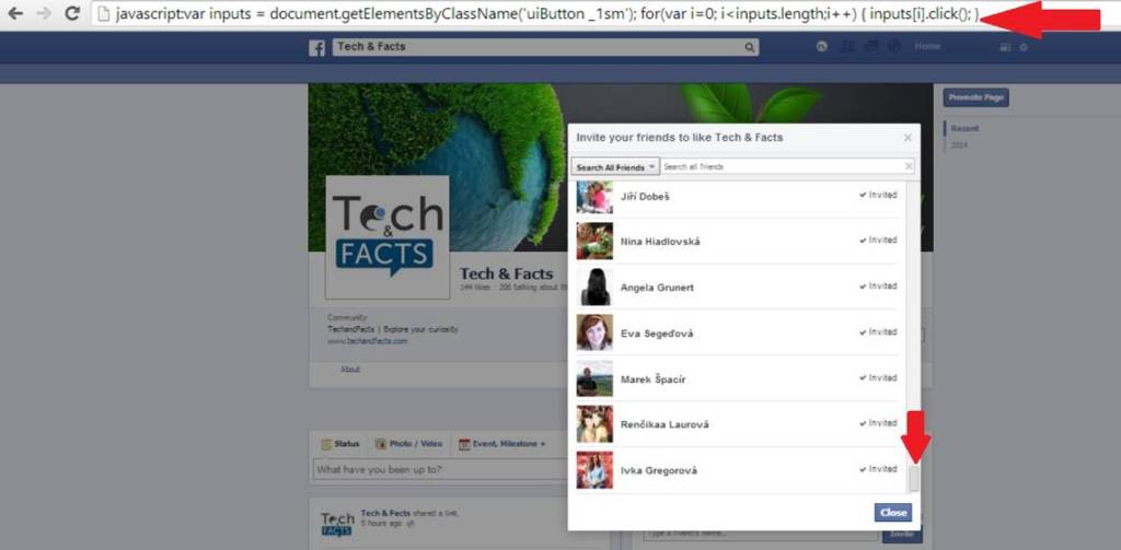 FB trick