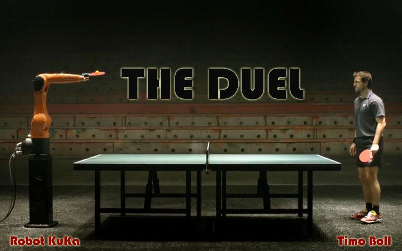 KUKA Robot vs. Timo Boll