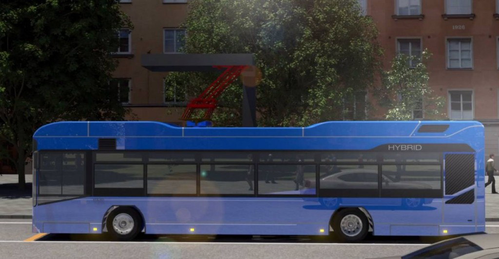 Busbaar Charger for Hybrid City Bus