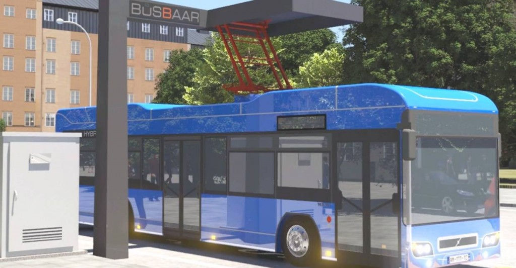 Busbaar Electric City Bus Charger