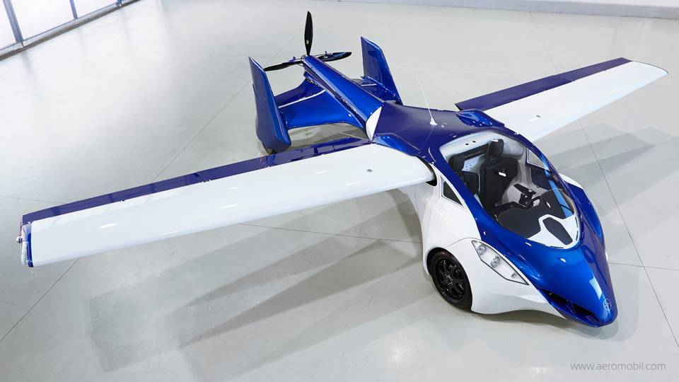Flying Car Aeromobil 2015