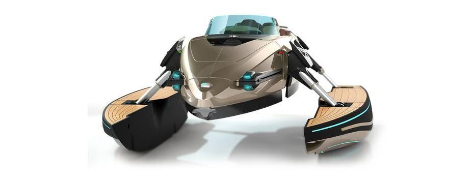 Kormaran The Real Transformer Boat