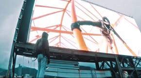 Hacked billboard