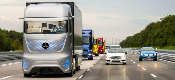 Autonomous Truck Becomes a Reality