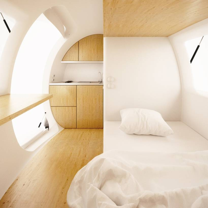 Ecocapsule Take Your Home With You Tech And Facts