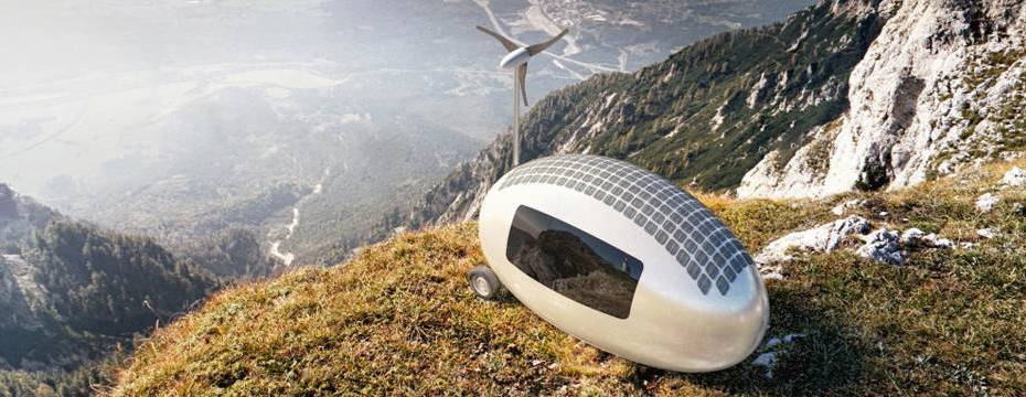 Ecocapsule take your home with you