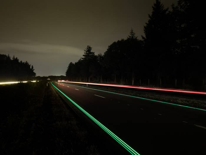 Glowing Highway N329