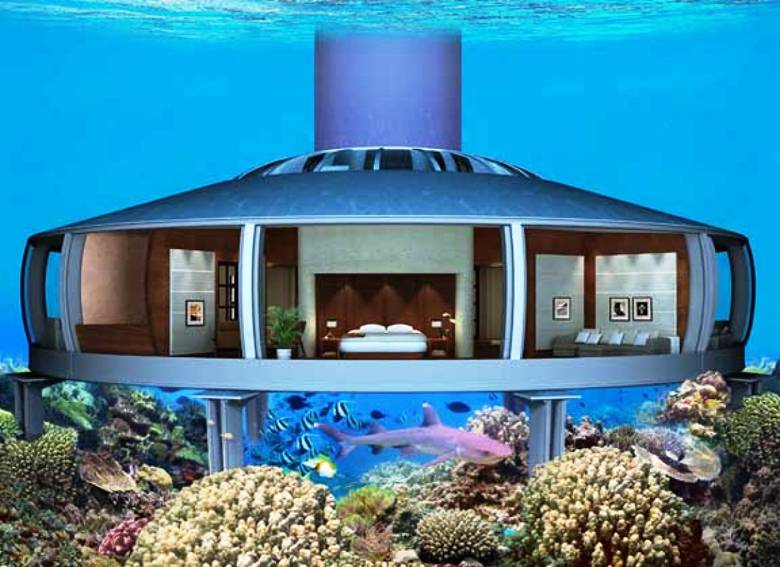 Underwater House in Fiji - H2ome