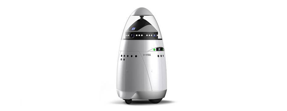 Knightscope K5 - The World's First Security Robot