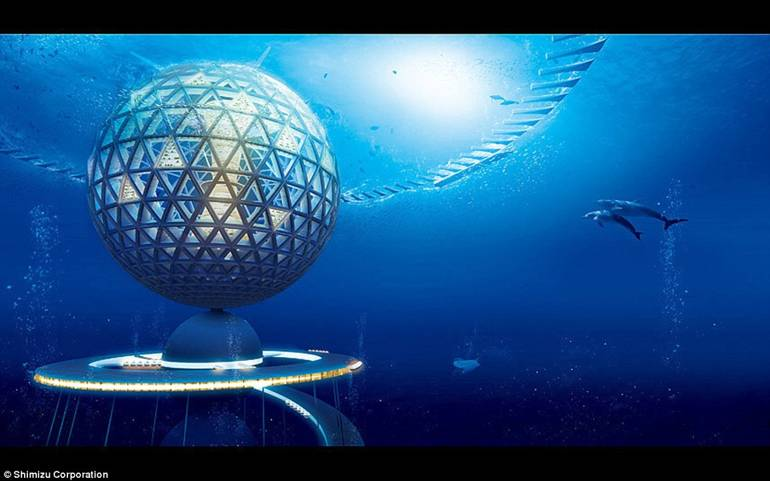 Ocean Spiral - The Underwater City