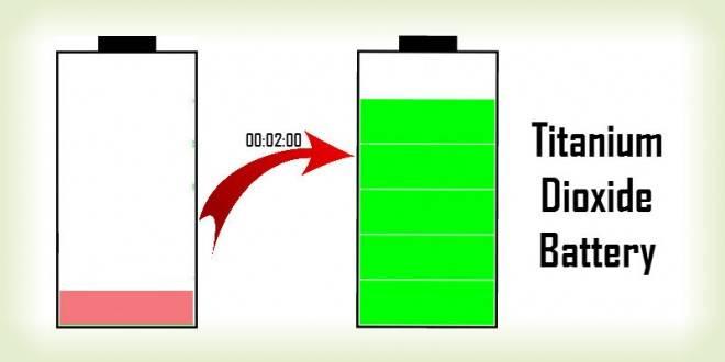 Titanium Dioxide Battery