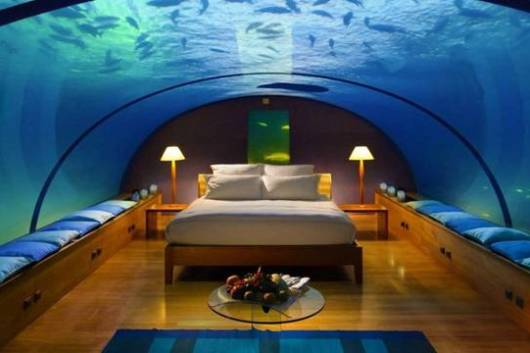 Underwater Hotel and House