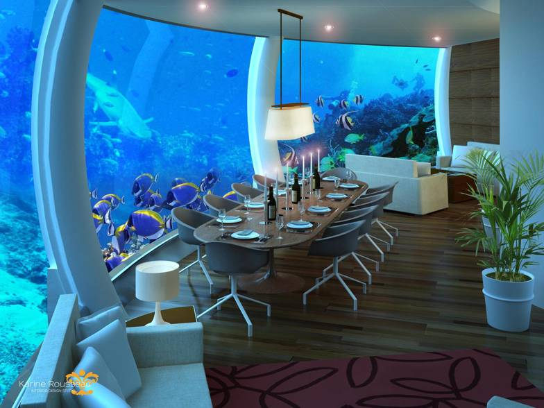 Underwater House - H2ome - Dining Room