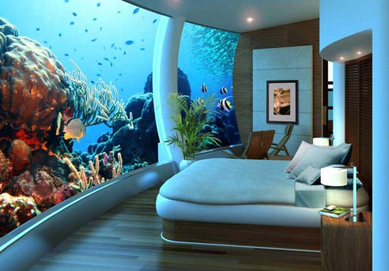 Underwater House and Underwater Hotel