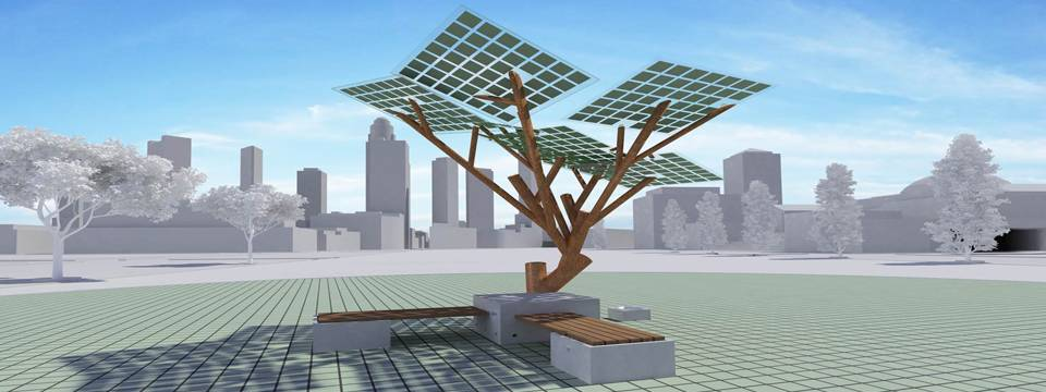 Etree The World S First Solar Powered Tree Tech And Facts